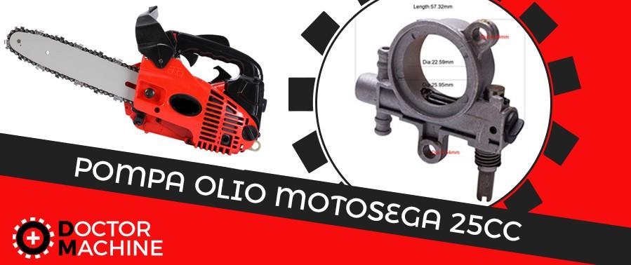 Pompa Olio Motosega 25cc
